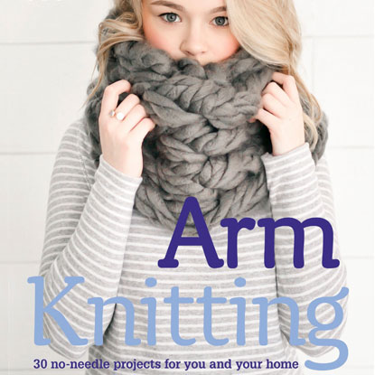 arm knitting book