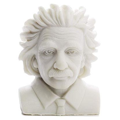 einstein eraser statue