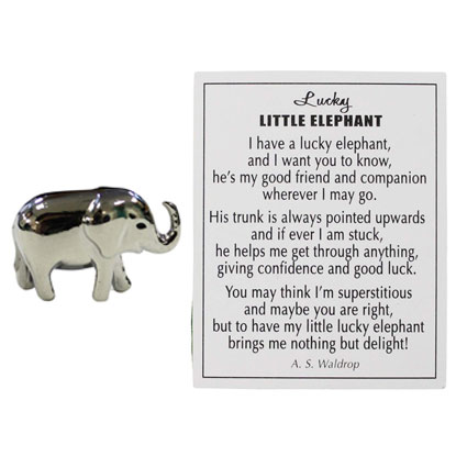 lucky little elephant gift