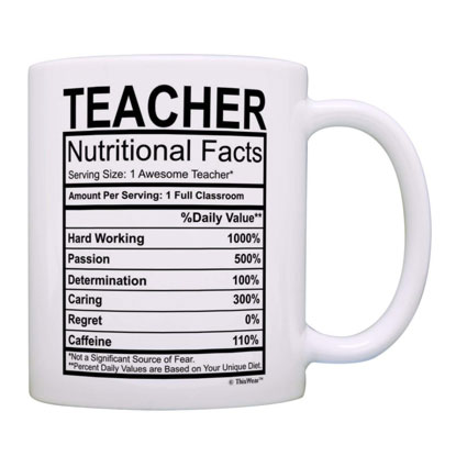 nutritional professor mug