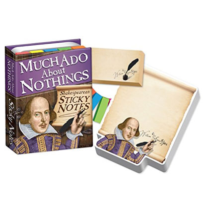 shakespeare sticky notes