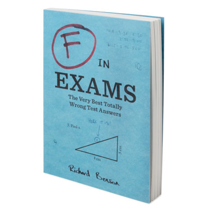 worst test answers gift book