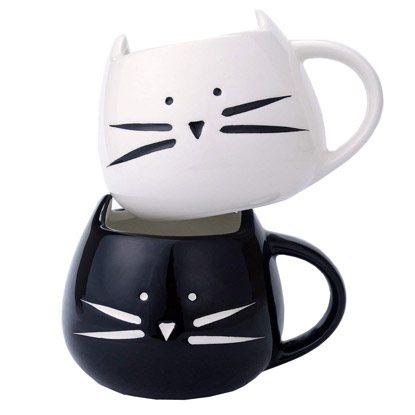 cat mugs gift