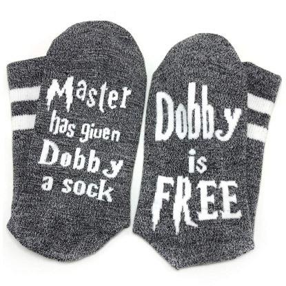 harry potter socks dobby