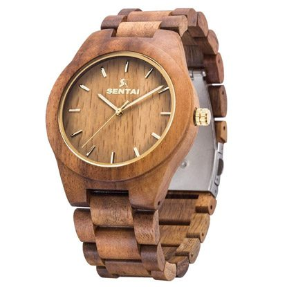 wooden watch gift for brothers