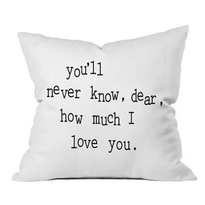 love pillow gift
