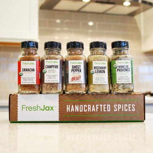 seasoned sea salts gift set