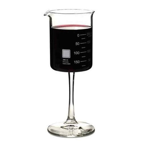 beaker wine glass