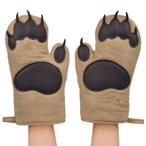 bear oven mitts