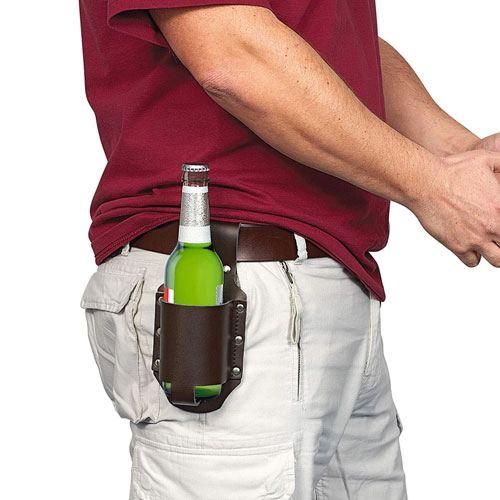 beer holster gag gift