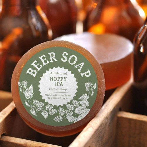 beer soap gag gift