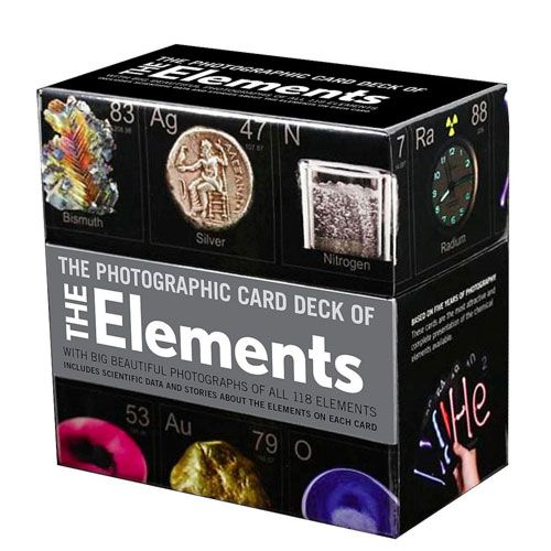 deck of elements chemistry gift