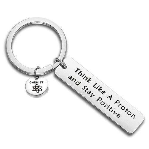 chemist proton keychain