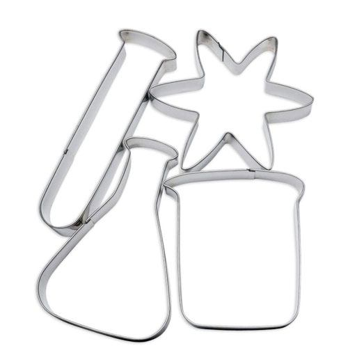 chemistry cookie cutters