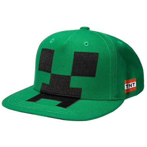 creeper snapback cap