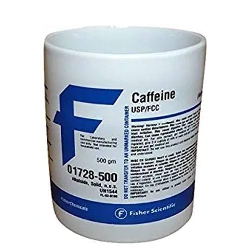 fisher chemicals caffeine mug