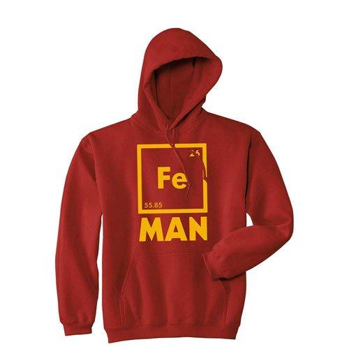 iron man chemistry hoodie