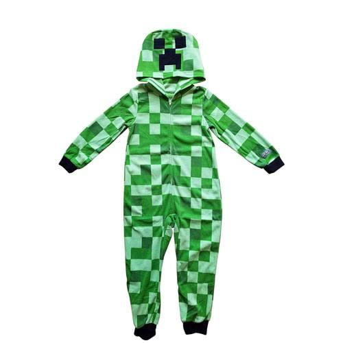 minecraft creeper onesie pyjamas