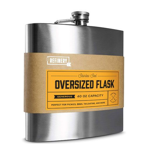 oversized drinks flask