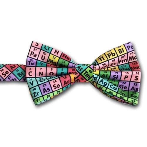 periodic table bow tie