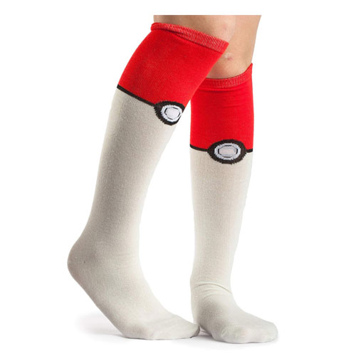 knee high pokeball socks