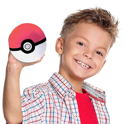 pokeball plush toy