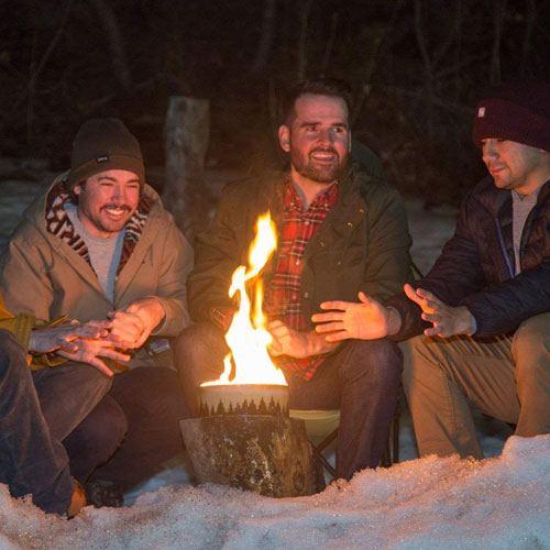 portable campfire gift