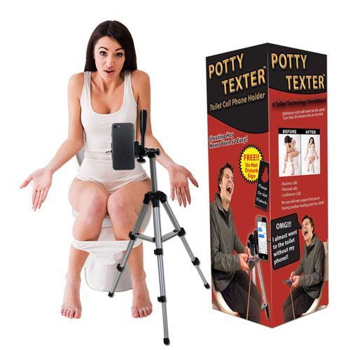 potty texter stand