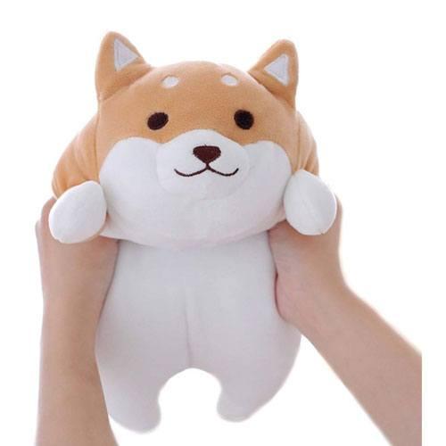 shiba dog pillow