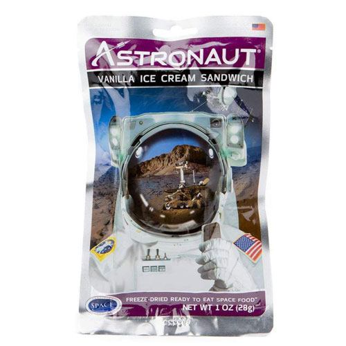 white elephant astronaut space food