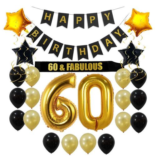 60th birthday decorations  60th Birthday Gift Ideas