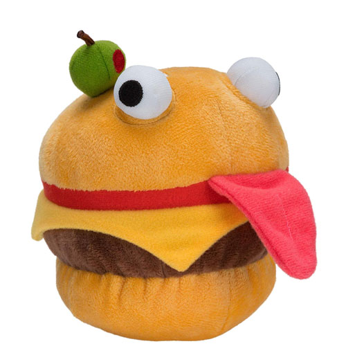 burger plush