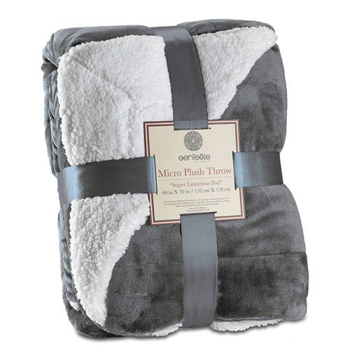 sherpa blanket  60th Birthday Gift Ideas