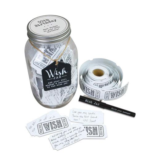 50th birthday wishes and memories jar