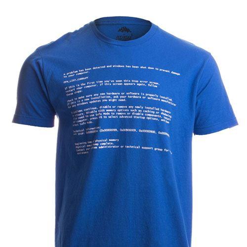 BSOD shirt