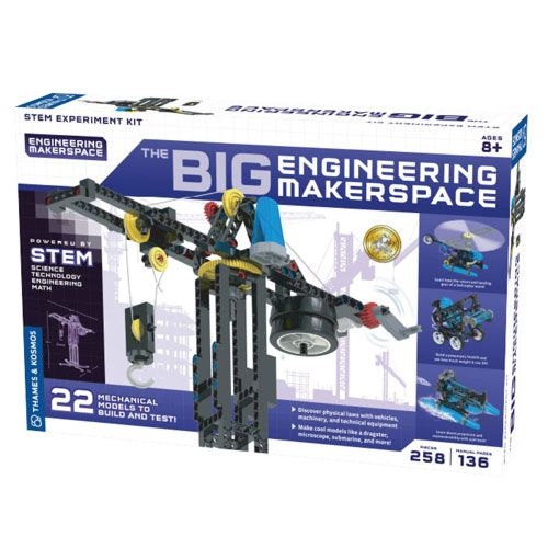 big engineering science experiment kit