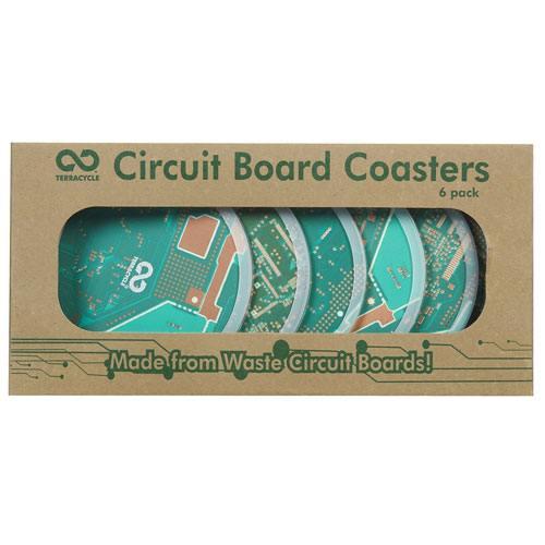 circuit board coasters set