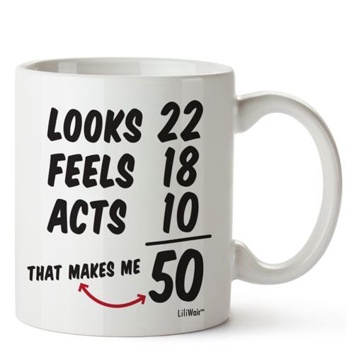 funny birthday mug