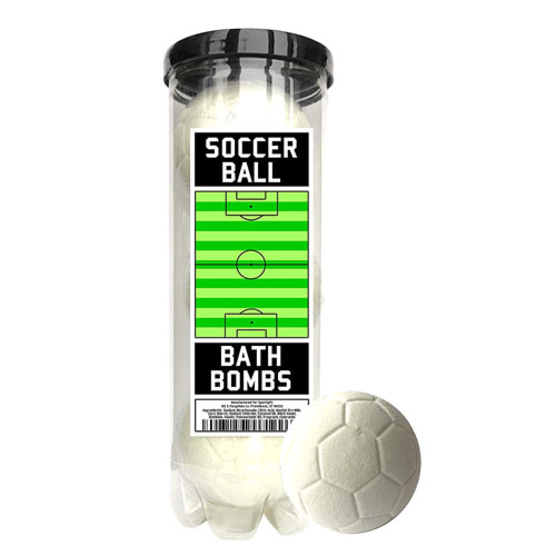 soccer ball bath bombs