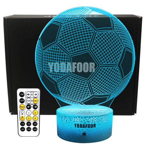 soccer lamp gift idea