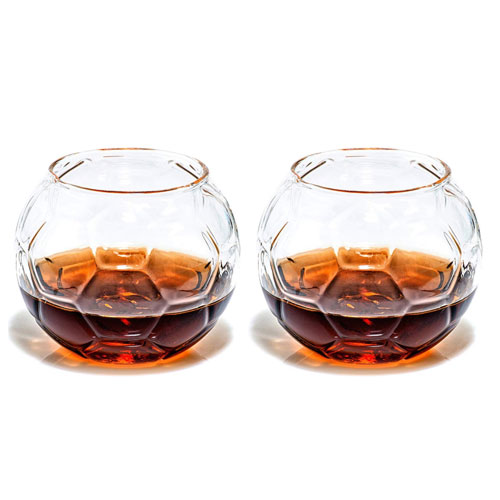 soccer whiskey glasses