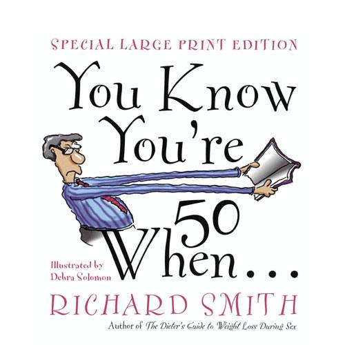 you know youre fifty when book