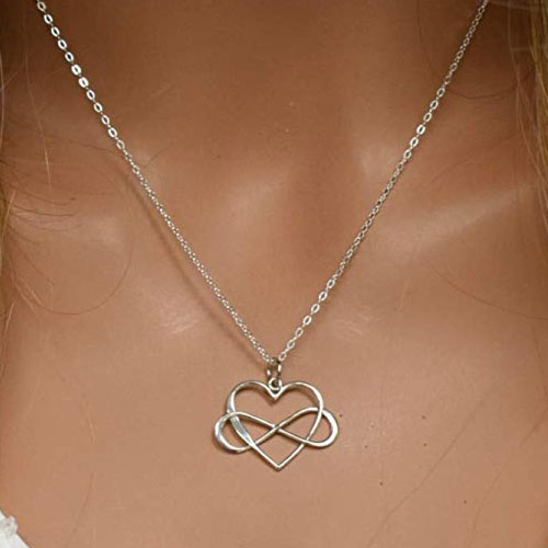 daughter in law infinity charm pendant