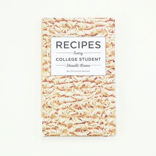 college student recipes book