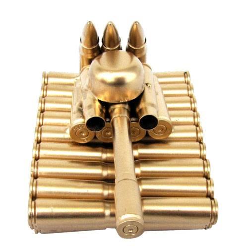 bullet shell casing tank