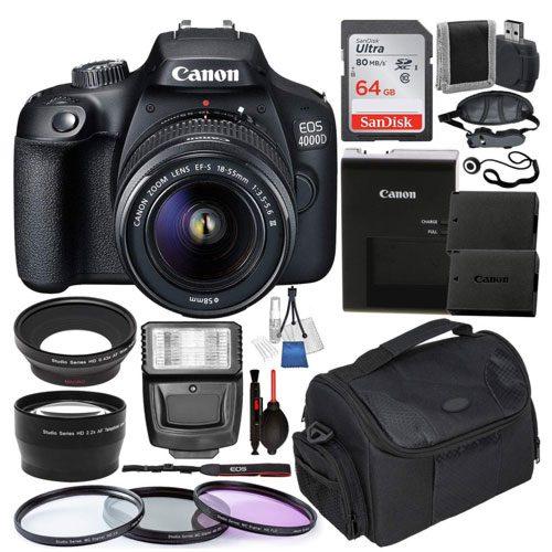 canon dslr digital camera kit