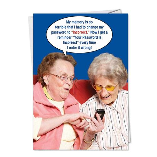 funny 70th birthday card