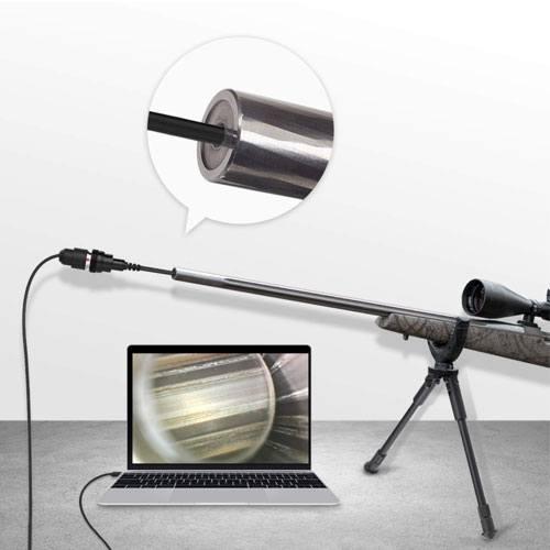 gun barrel camera device