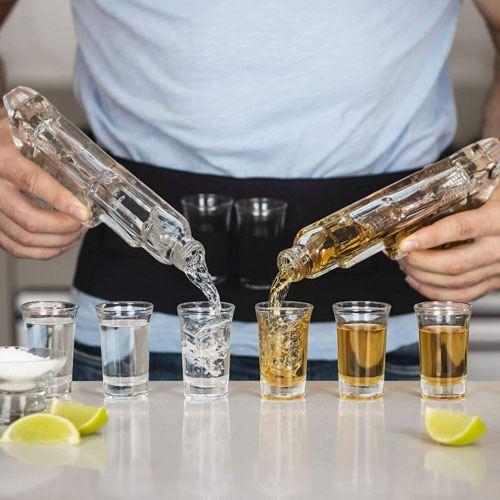 handgun whiskey decanter
