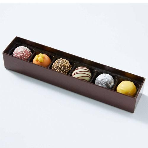 happy birthday chocolate truffles